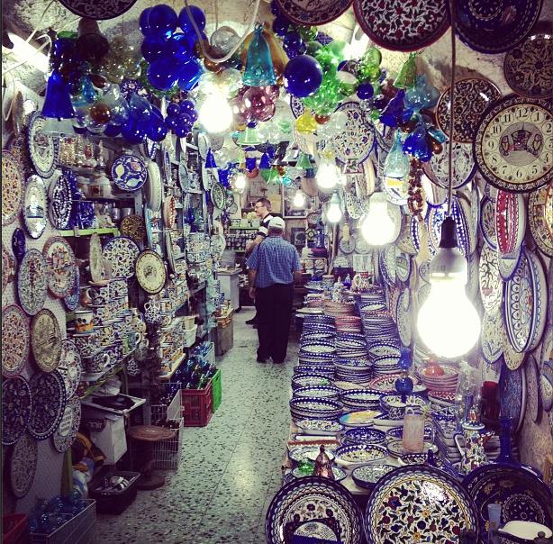 Glass and Lights in Jerusalem